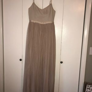 Nude Bridesmaid's Dress / Size 10